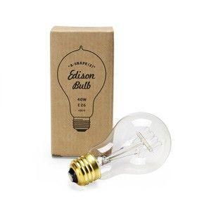 Edison Bulb エジソンバルブ A-Shape(S) 電球 E26 40W アンティーク 照明 裸電球 レトロ カフェ 間接照明 インテリア照明 エジソンランプ ビンテージ|rocca-clann