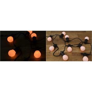 LED Cable Light ケーブルライト10灯 電飾 ガーデンライト アウトドア 飾り レトロ 裸電球 デコレーション 屋外 防水 電池式 LEDライト DETAIL イベント内装 rocca-clann 05