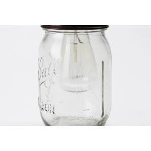 Ball Mason Jar Lamp  ボールメイソンジャーランプ ペンダントランプ レトロ エジソン電球 エジソンバルブ ガラス瓶 カフェ 店舗照明 rocca-clann 05