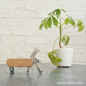Animal Multi-tool アニマルマルチツール KIKKERLAND キッカーランド 動物モチーフ インテリア雑貨 オブジェ ナイフ 栓抜き アート|rocca-clann|05