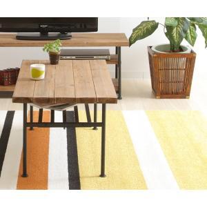 送料無料 古材 センターテーブル スチール 工業デザイン ビンテージ インダストリアル アンティーク  ローテーブル|rocca-clann|04