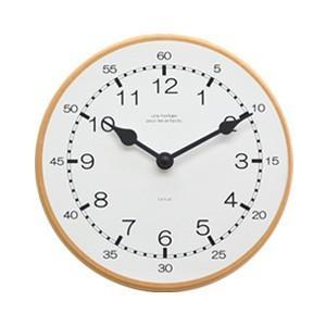 La Luz Inc. (ラ・ルース) キッズクロック シンプル 知育時計 ウォールクロック 壁掛け時計 シンプル ナチュラル 子供部屋|rocca-clann