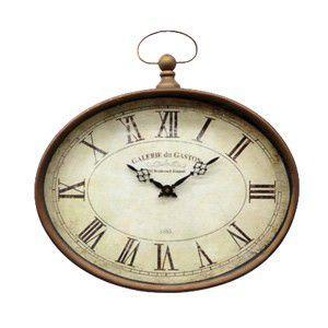 ガレリア・オーバルクロック BM-65 アンティーク 雑貨 掛時計 壁掛け時計|rocca-clann