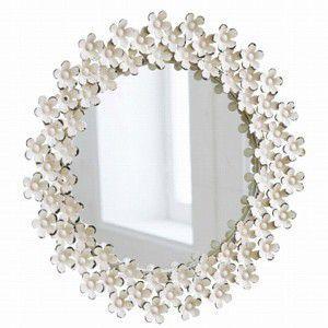 デイジー ウォールミラー BM-13 壁掛け鏡 アンティーク フラワー デザイン rocca-clann
