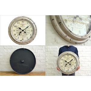 送料無料 スロットル・ウォールクロック (KI-26) 壁掛け時計 カフェ アンティーク 雑貨 古い時計 フランス 店舗什器 内装 ディスプレイ  レトロ|rocca-clann|03