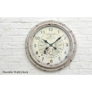 送料無料 スロットル・ウォールクロック (KI-26) 壁掛け時計 カフェ アンティーク 雑貨 古い時計 フランス 店舗什器 内装 ディスプレイ  レトロ|rocca-clann|05