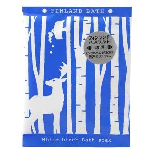 粉末入浴剤/フィンランド バスソルト ホワイトバーチ|rocce