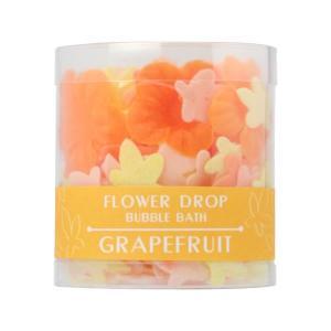 ペーパーソープ入浴剤/フラワードロップ グレープフルーツ|rocce