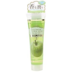 泡の入浴剤/シャワーアロマソープ ボーテ グリーンアップル rocce