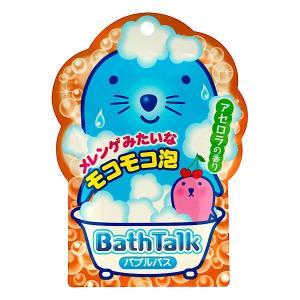 泡の入浴剤/バストーク バブルバス アセロラの香り rocce