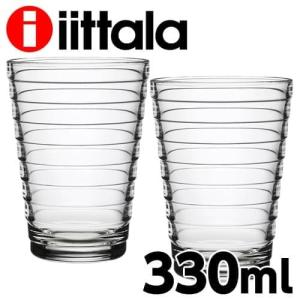iittala イッタラ Aino Aalto アイノアアルト タンブラー 330ml クリア 2個セット rocco-shop