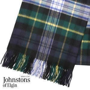 JOHNSTONS ジョンストンズ カシミア ストール 大判 タータンチェック ドレスゴードン 190×70cm WA000056-KU0312『送料無料(一部地域除く)』 rocco-shop
