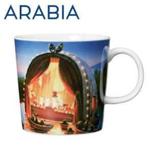ARABIA アラビア Moomin ムーミン バレー マグ 黄金のしっぽ 300ml The Golden Tale マグカップ|rocco-shop