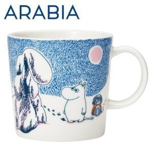 ARABIA アラビア Moomin ムーミン マグ クラウンスノーロード 300ml 2019年冬季限定 マグカップ|rocco-shop