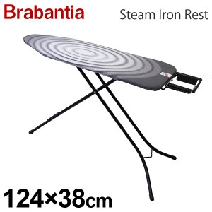 Brabantia ブラバンシア スティームアイロンレスト チタンオーバル サイズB 124×38cm 103841|rocco-shop