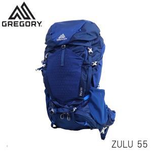 GREGORY グレゴリー ZULU55 ズール 55L M/L エンパイアブルー EMPIRE BLUE 1115927411 バックパック リュックサック『送料無料(一部地域除く)』 rocco-shop