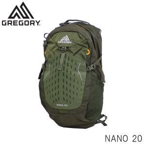 GREGORY グレゴリー バックパック NANO ナノ 20 20L フェンネルグリーン 1114991333『送料無料(一部地域除く)』 rocco-shop