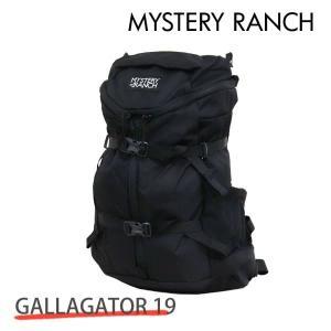 MYSTERY RANCH ミステリーランチ GALLAGATOR 19 ギャラゲーター 19L BLACK ブラック バックパック デイパック『送料無料(一部地域除く)』|rocco-shop