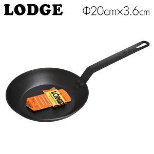 LODGE ロッジ ロジック シーズンスチール スキレット 8インチ SEASONED STEEL SKILLET CRS8|rocco-shop