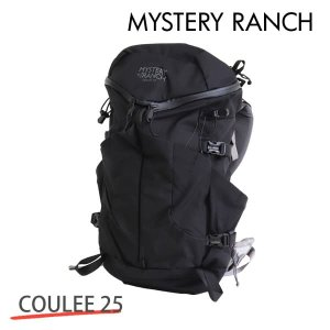 MYSTERY RANCH ミステリーランチ COULEE 25 MEN'S クーリー メンズ S/M 25L BLACK ブラック バックパック 『送料無料(一部地域除く)』 rocco-shop