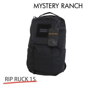 MYSTERY RANCH ミステリーランチ RIP RUCK 15 リップラック 15L BLACK ブラック バックパック デイパック 『送料無料(一部地域除く)』 rocco-shop