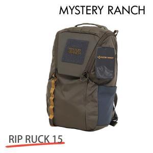 MYSTERY RANCH ミステリーランチ RIP RUCK 15 リップラック 15L WOOD ウッド バックパック デイパック 『送料無料(一部地域除く)』 rocco-shop