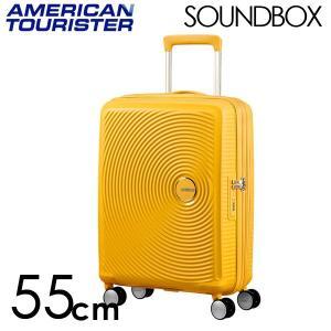 『期間限定ポイント10倍』 サムソナイト アメリカンツーリスター サウンドボックス 55cm ゴールデンイエロー Sound Box Spinner 35L〜41L EXP|rocco-shop