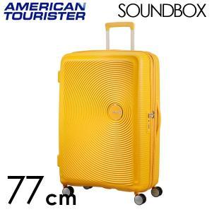 『期間限定ポイント10倍』 サムソナイト アメリカンツーリスター サウンドボックス 77cm ゴールデンイエロー Sound Box Spinner 97L〜110L EXP|rocco-shop
