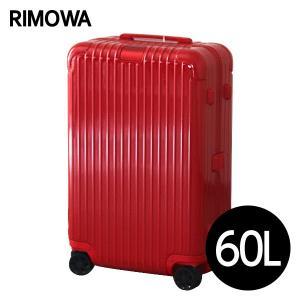 『期間限定ポイント10倍』 リモワ RIMOWA エッセンシャル チェックインM 60L グロスレッド ESSENTIAL Check-In M 832.63.65.4|rocco-shop