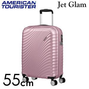 『期間限定ポイント10倍』 サムソナイト アメリカンツーリスター ジェットグラム 55cm メタリックピンク Jetglam 35.5L|rocco-shop