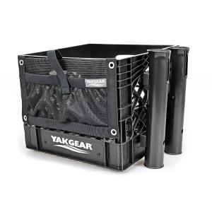Yak Gear(ヤックギア )アングラークレートキット スタンダードセット(ロッドホルダー&ポーチセット) カゴ カヤック SUPフィッシング ゴムボート|rockfish-link