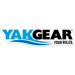 /メール便可/ Yak Gear (ヤックギア) 公式オフィシャルロゴステッカー(カラー) カヤック 艤装 パーツ rockfish-link