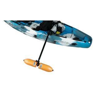 Yak Gear(ヤックギア) カヤック カヌー用 アウトリガー サイドフロート フルセット レイルブレイザ スターポートHDマウント付属|rockfish-link