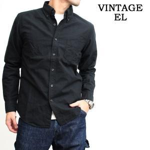 ヴィンテージイーエル VINTAGE E.L. オックスフォードシャツ ボタンダウンシャツ BDシャツ 長袖シャツ メンズ ブランド ビンテージEL (02-75201s)|rockingchair2822
