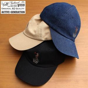 ウェルテイラード 帽子 キャップ ローキャップ 刺繍 ワンポイント メンズ レディース ブランド カジュアル アメカジ アクティブジェネレーション (07-kkc163)|rockingchair2822