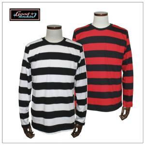 グッドロッキン GRC-275ボーダーロングスリーブTシャツ |rockinkojima-ya