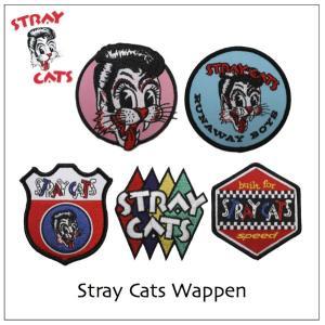 ストレイキャッツ~STRAY CATS~刺繍ワッペン|rockinkojima-ya