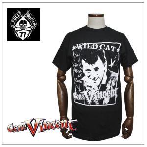 Gene Vincent/WILD CAT Tシャツ|rockinkojima-ya