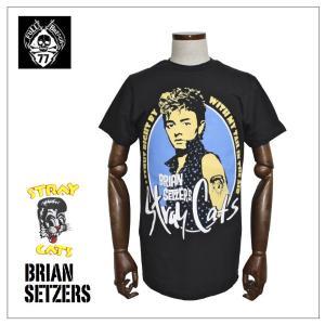 Brian Setzer's Stray Cats Tシャツ|rockinkojima-ya