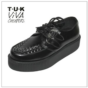 TUK Viva Creepers Monde Sole V6802ブラック|rockinkojima-ya