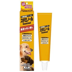 お取寄せ品 アースバイオケミカル スタミノール 犬用 100g|rocky