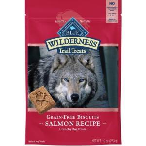 ブルー ウィルダネス グレインフリー ビスケット サーモン 犬用 283gx6入|rocky