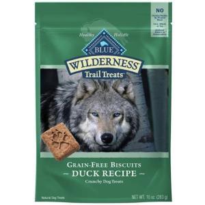 ブルー ウィルダネス グレインフリー ビスケット ダック 犬用 283g|rocky