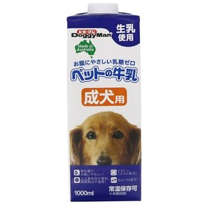 【お取寄せ品】ドギーマン ペットの牛乳 成犬用 1000ml×10入【送料無料】|rocky