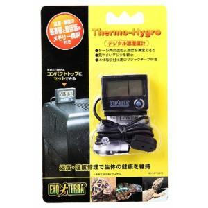 ジェックス デジタル温湿度計 PT2470 爬虫類用 【送料無料】|rocky
