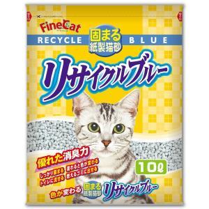 常陸化工 ファインキャット リサイクルブルー 猫用 10Lx5入 rocky
