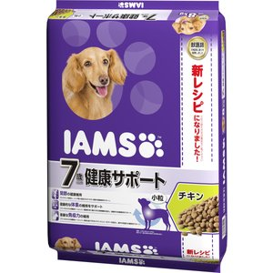 アイムス(国内) 7歳以上用 健康サポート チキン 小粒 シニア犬用 8kg【送料無料】