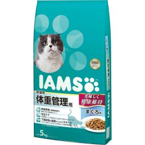 お取寄せ品 アイムス 国内正規品 体重管理用 まぐろ 成猫用 5kg|rocky