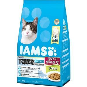 お取寄せ品 アイムス 国内正規品 下部尿路とお口の健康維持 チキン 成猫用 1.5kg|rocky