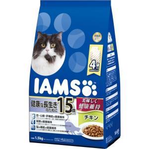 お取寄せ品 アイムス 国内正規品 15歳以上 健康な長生きのために チキン 老齢猫用 1.5kg|rocky